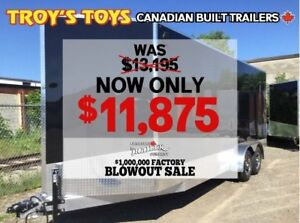 2018 Canadian Trailer Company FACTORY BLOWOUT! 7X20 V-Nose Cargo