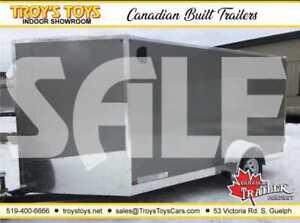 2019 Canadian Trailer Company SALE 7X12 V-Nose Cargo Trailer