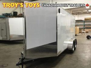 2019 Canadian Trailer Company 6X14 V-Nose Cargo Trailer