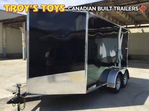2019 Canadian Trailer Company 7X12 V-Nose Cargo Trailer