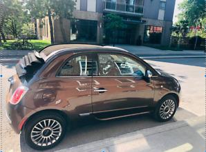 Fiat 500 Décapotable