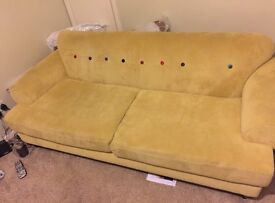 DFS SOFA ONLY TWO YEARS OLD