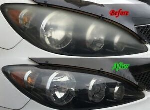 Headlight Buffing/Restoration Scratch Removal & Paint correction