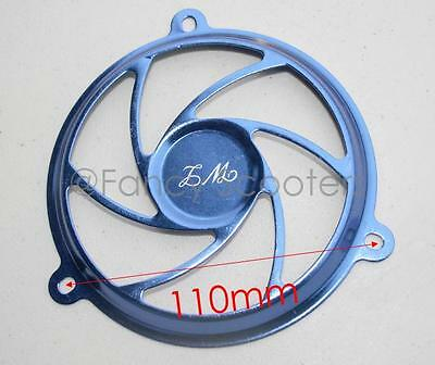 150cc GY6  157QMJ Engine Fan Decoration Cover in BLUE