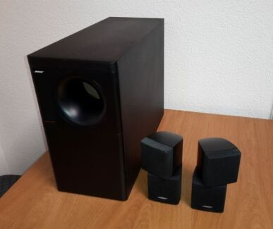 Bose Acoustimass 5 Series iii & 4 Double Cube Speakers