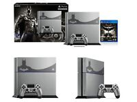 Brand new Limited Edition batman ps4 with VR. Tuns of games and accessories