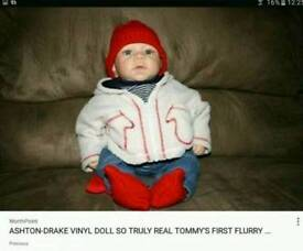 Tommy's First Flurry. Ashdon- Drake Doll.