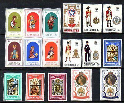 Gibraltar - Scott #'s 325/363 - Mint Hinged