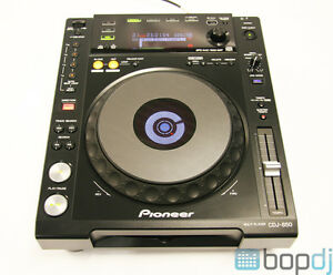 Pioneer CDJ-850 K Black DJ USB MP3 CD Player Deck *2 available*
