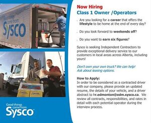 Class 1 Owner/Operator (Independent Contractor)