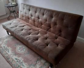 Free - Brown sofa bed