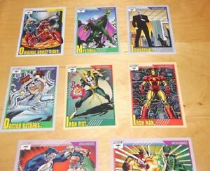11 Marvel Trading Cards