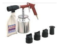 Sealey SG10E Sand blasting Kit Air Recirculating For Bodyshop and body work reapir