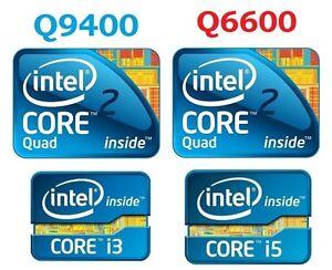 Intel CPU Q6600: 25$, Q9400: 30$, I3-2120: 50$, I5-2400: 80$