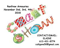 3 DAY CRAFTERS/VENDORS SHOW IN RENFREW