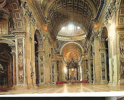 POSTCARD: SAINT PETERS BASILICA - VATICAN - ROME