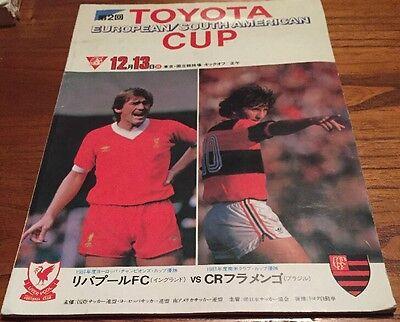 1981 Liverpool v Flamengo - World Club Cup - 1981