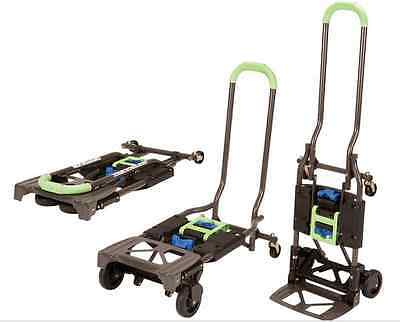 Box Utility Cart - Hand Truck Dolly Folding Utility Cart Pallet Box Lift Moving Heavy Duty Carts