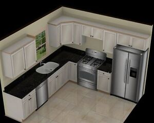 Kitchen Cabinet 20 lin ft from 2500.00
