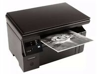 HP Laser Printer M1132MFP black and white laserjet