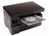 HP Laser Printer M1132MFP black and white laserjet