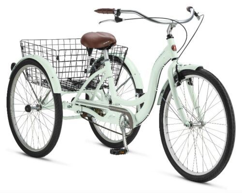 Bicycle Bike Adult Tricycle Trike Ride 26inch Wheels Aluminum Frame Comfortable