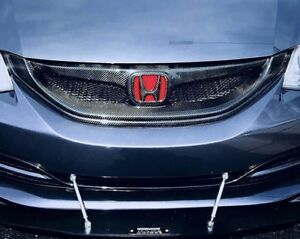 9thCivic Carbon Grill/ 9.5 Civic Front Lip/ DuckBill Spoiler