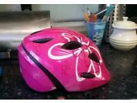 Met Elfo pink floral bike helmet 46 - 53cm