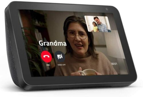 Echo Show 8 (1st Gen, 2019 release) -- HD smart display with Alexa