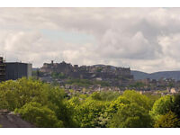 Lovely 2 bed flat with Castle views in quiet cul-de-sac