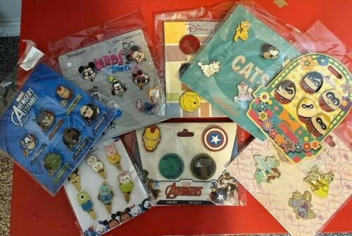 Many Different Disney Trading Pins Booster Sets You Pick the one