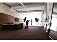 Brand New Photography Studio to Rent in East London with all bills included!