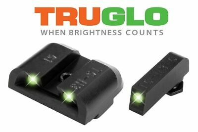 TRUGLO TG231G1 Tritium Night Sight for Glock 17,19,22,23,24,26,27,33,34,35,38,45 Tritium Night Sight