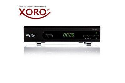 XORO HRS 8660 DVB-S2 digitaler HD Satelliten-Receiver, HDMI SCART USB, PVR Ready
