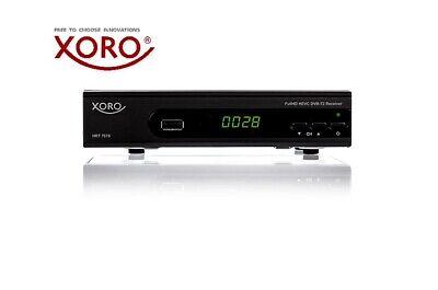 XORO HRT 7619 HD DVB-T2 Receiver für digitales Antennenfernsehen, HDMI SCART USB