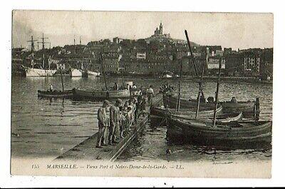 CPA-Carte Postale-FRANCE-Marseille- Vieux Port- Notre Dame de la Garde  1921