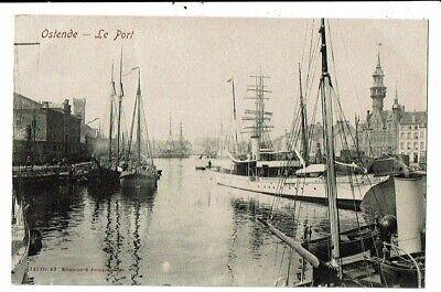 CPA-Carte Postale-Belgique-Oostende -Le Port -VM13775
