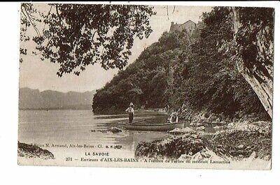 CPA-Carte Postale- FRANCE-Environs d'Aix les Bains-A l'ombre de l'arbre