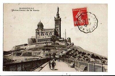 CPA-Carte Postale-France-Marseille-Notre Dame de la Garde-1928 VM15344