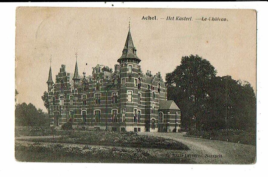 CPA-Carte Postale-Belgique-Achel- Le Château--1921 VMO15267