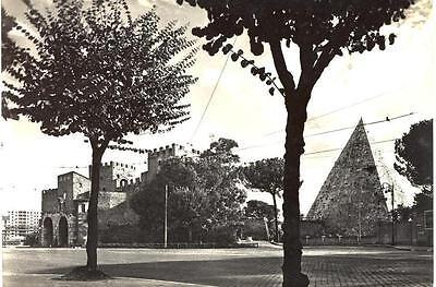 ROMA PIRAMIDE CASTRIA E PORTA S. PAOLO ANNI '60