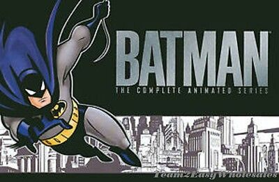 Brand New  The Batman   The Complete Animated Series  Dvd  2008