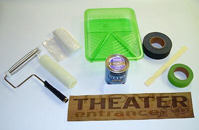 Rear Projection Screen Kit - HD Projector / Projection Screen Paint Kit, Movie Projector, Rear Projection