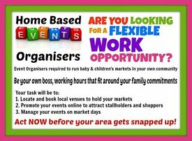 Home Based BABY Event Organisers Required in Belfast