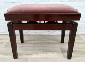 Height Adjustable Piano Stool (DELIVERY AVAILABLE)