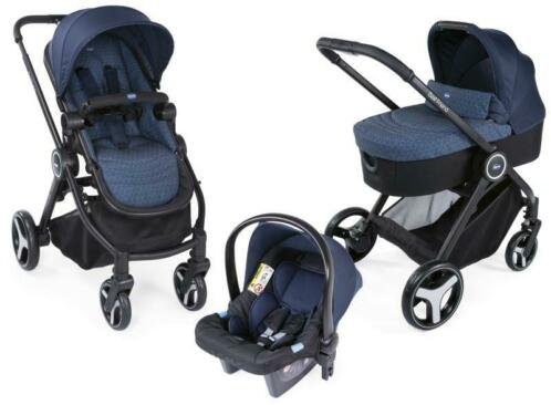 Chicco Trio Best Friend Oxford 3-in-1 Combi Kinderwagen i...