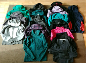 Lululemon sweaters, hoodies, sizes below