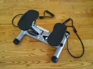 Quality Freestyle Metal Stepper with Resistance Bands