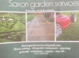 Garden & grounds maintenance.
