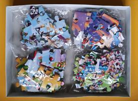 Puzzles x 4